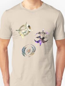Fire Emblem Fates - Hoshido, Nohr & Valla Symbols Unisex T-Shirt
