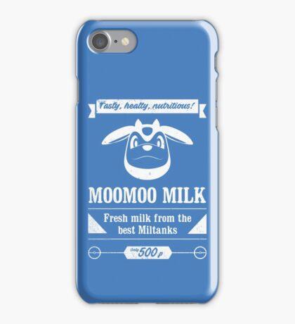 MooMoo Milk old ad iPhone Case/Skin