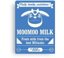MooMoo Milk old ad Canvas Print