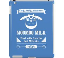MooMoo Milk old ad iPad Case/Skin
