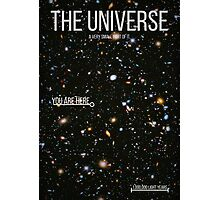 THE UNIVERSE⎜SPACE⎜TIME⎜SCIENCE Photographic Print