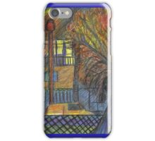 Night Time on Barns Road iPhone Case/Skin