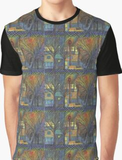 Night Time on Barns Road Graphic T-Shirt