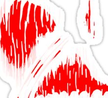 Red Face Titan Sticker