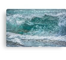 Hawaiian Style Shore Break  Canvas Print