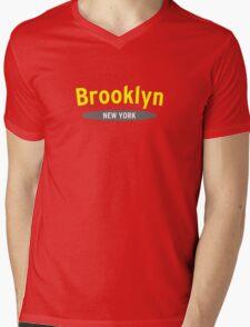The Big Apple NYC 99 Mens V-Neck T-Shirt
