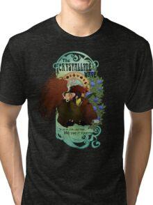 The Crystalline Wave Tri-blend T-Shirt