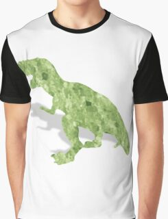 Water color t-rex Graphic T-Shirt