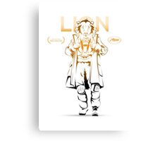 LionMan Canvas Print