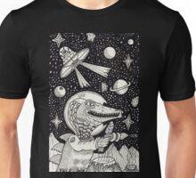 Space Croc Unisex T-Shirt