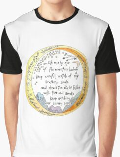 lOTR The Ring, quote, My precious Graphic T-Shirt