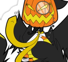 Mr. Jack O. Lantern Sticker