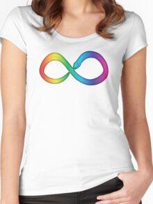 Neurodiversity Serpent Women's Fitted Scoop T-Shirt