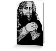 Modern Viking Greeting Card
