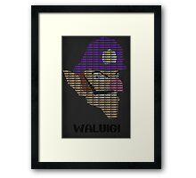 Wah - Waluigi Framed Print