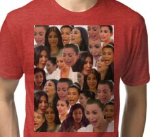 Kim Kardashian Collage // Tri-blend T-Shirt