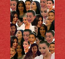Kim Kardashian Collage // Tri-blend T-Shirt
