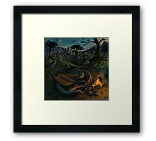 Dragon Camp Framed Print