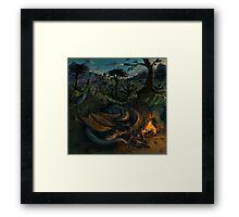 Dragon Camp Framed Print