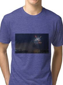 Fireworks at night in summer Tri-blend T-Shirt