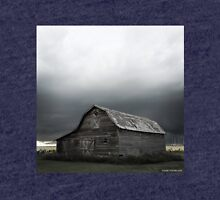 Barn With Approaching Storm Tri-blend T-Shirt