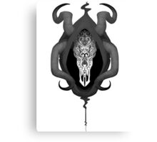 The Mask of Grenth Canvas Print