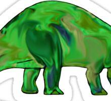 Dinosaur Brontosaurus 11G Sticker