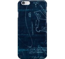 American Revolutionary War Era Maps 1750-1786 866 Sir This is minuts of the fort at Crown Point and of the redouts built round it which I took on the mountain Inverted iPhone Case/Skin