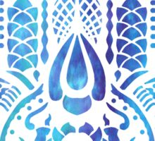 Hamsa Hand Hippie Blue Sticker