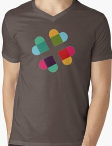 #Slack in Love Mens V-Neck T-Shirt