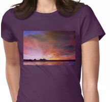 Winter Dusk Womens Fitted T-Shirt