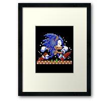 Super Sonic Maker Framed Print