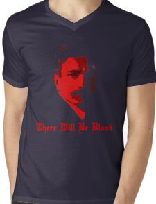 There Will Be Blood- Daniel Plainview Mens V-Neck T-Shirt