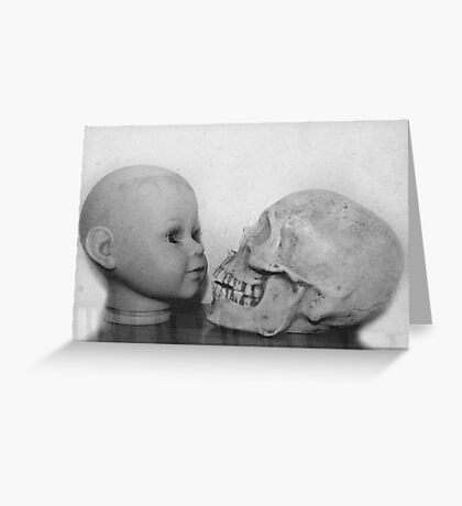 Life leads to death Greeting Card