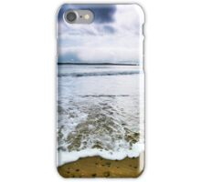 South Beach Spindrift, Tenby iPhone Case/Skin
