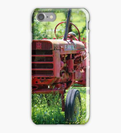 McCormick Farmall Tractor iPhone Case/Skin