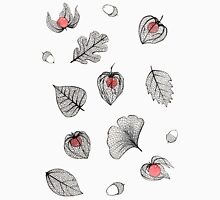 Physalis and skeleton leaves Unisex T-Shirt