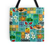 Hawaiian Blocks 001 Tote Bag