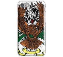 Angry Hawk and Mean Skull iPhone Case/Skin