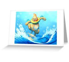 Aqua Jet! Greeting Card