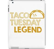 Taco Tuesday Legends iPad Case/Skin