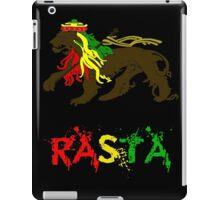 Reggae Rasta, Rastafari Lion 2 iPad Case/Skin