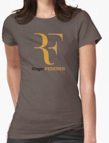 Roger Federer RF Logo Womens Fitted T-Shirt