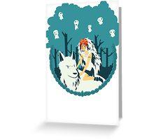 Mononoke Greeting Card