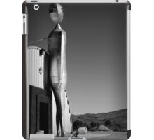 Silver Alien with Tricycle iPad Case/Skin