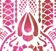 Hamsa Hand Hippie Pink Sticker