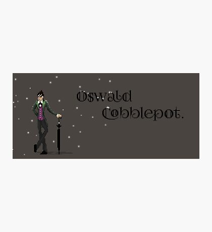 Gotham, Oswald Cobblepot  Photographic Print
