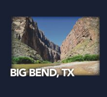 Big Bend Landscape 2 Baby Tee