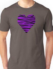 0206 Dark Violet Tiger Unisex T-Shirt