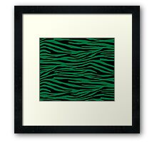 0207 Dartmouth Green Tiger Framed Print
